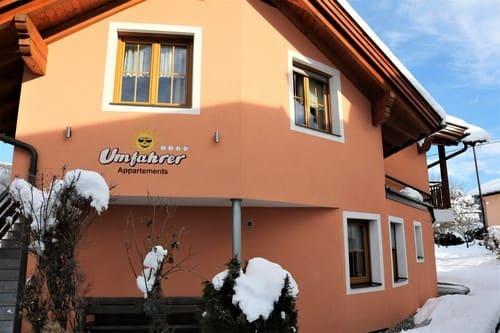 Appartement Umfahrer direkt im Skigebiet und Wandergebiet Nassfeld