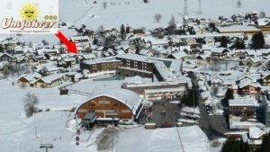 Direkt an der Piste im Skigebiet Nassfeld
