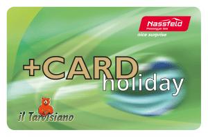 Plus-Card Premiumcard holiday Sommer Nassfeld inklusiv